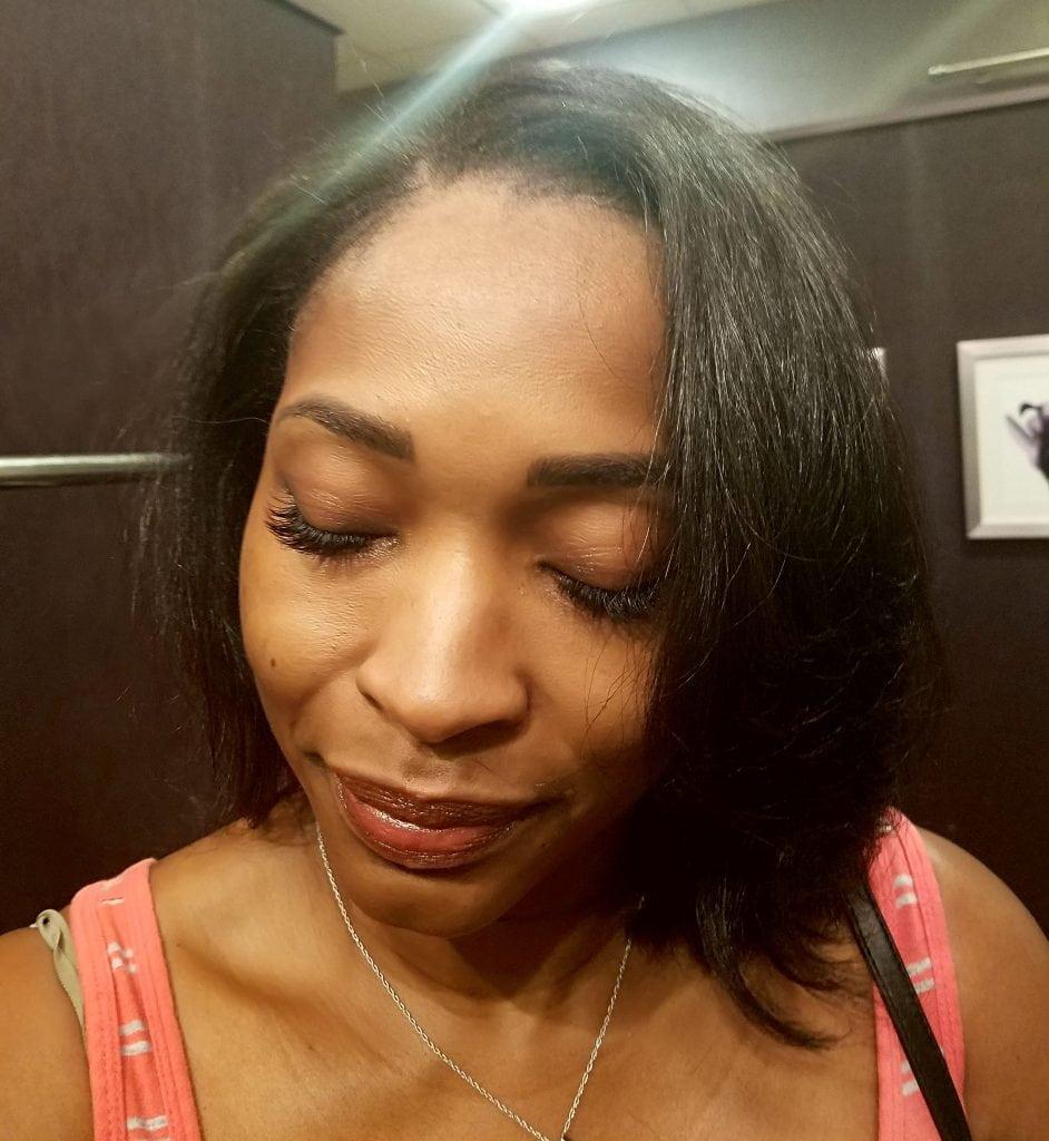 Tia Burell - owner/ operator Stokes of Beauty by Tia
